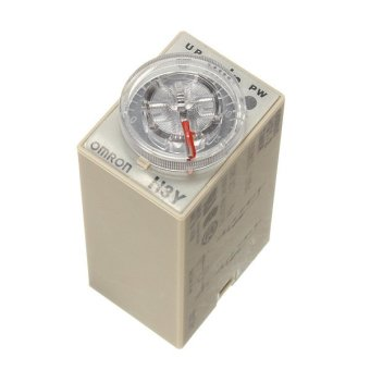 DC 12V Delay Timer Relay Power on Time 0~60 Minute Solid Delay Socket H3Y-2 Base (Intl)