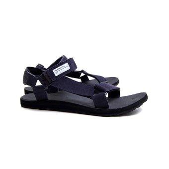 harga Hijack Sandals - Kato Blue Suede Lazada.co.id