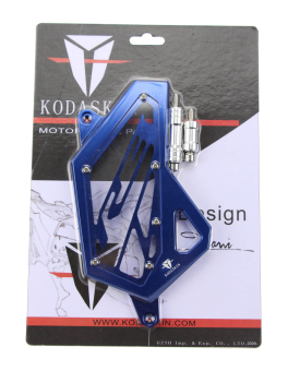 harga KODASKIN CNC Aluminum Motorcycle Accessories Front Sprocket Cover Chain Guard Cover Left Side Engine for Yamaha YZF R3 2014 2015 2016 blue - Intl Lazada.co.id