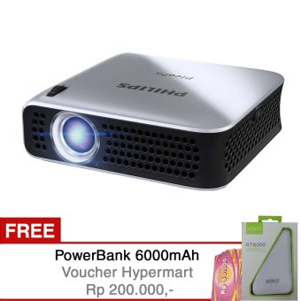 Philips Picopix PPX4010 + Free Power Bank + Voucher Hypermart