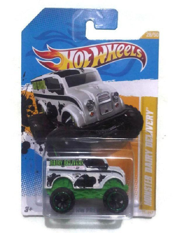 harga Hot wheels Monster Dairy Delivery Lazada.co.id
