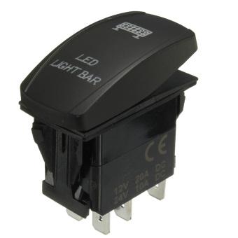 harga Winch in Winch out Blue LED ARB Rocker Switch Toggle Off/On Laser Work Light 12v 24v (Led Light Bar) Lazada.co.id