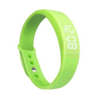 W5 Smart Sport Bracelet Fitness Wrist Watch Pedometer Sleeping Monitor Tracker (Green) (Intl)