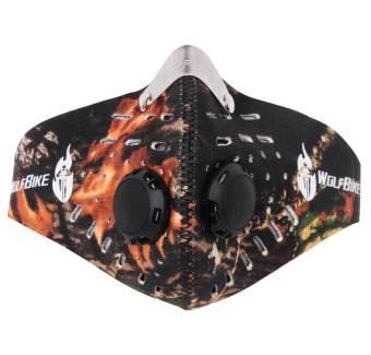 JIANGYUYAN WOLFBIKE Half Face Ski Snowboard Bike Motorcycle Mask Headwear(Camouflage) (Intl)