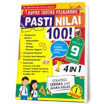 Suka Buku - Kupas Tuntas Pelajaran, Pasti Nilai 100! Kelas 9 SMP/MTs