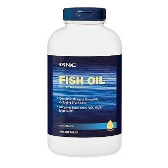 GNC Fish Oil 1000 - 360 softgels