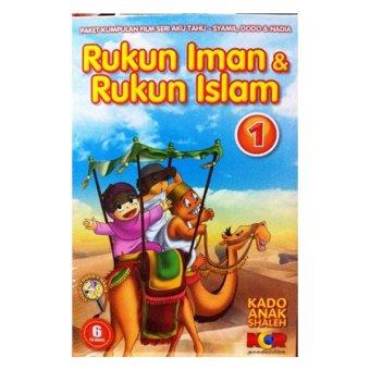 Tahlia Star Kado Anak Shaleh Rukun Iman Rukun Islam Seri 1 - 6 VCD