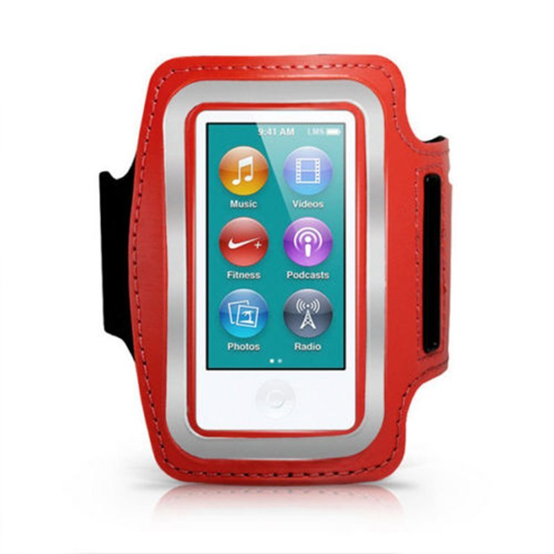 harga Jettingbuy Sport Armband Cover for iPod Nano 7th Generation Red Lazada.co.id
