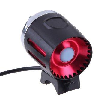 HAOFEI Bicycle Accessory V8 USB T6 1200LM Light 3 Modes Headlamp Black - INTL