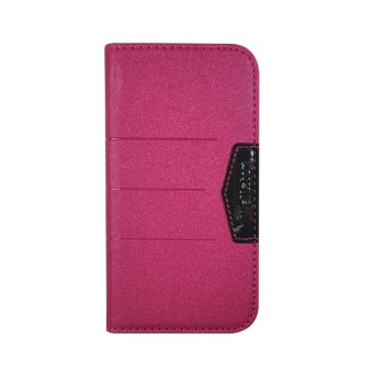 Wallston Beautiful bright Leather Case for Smartfren Andromax T Rose
