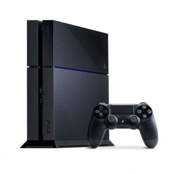 Sony Playstation 4 500 GB Original Region Asia CUH-1206A - Hitam