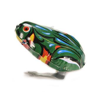 HomeGarden Classic Clockwork Frog Toys for Kids (Intl)