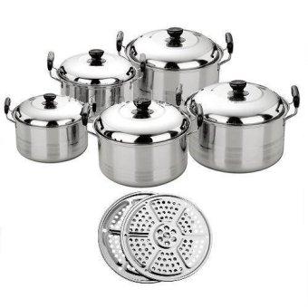 harga Kingko America High Pots Panci Set Steamer/Kukusan/Langseng Lazada.co.id