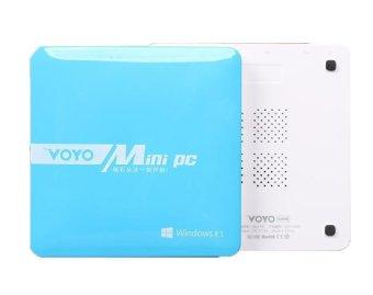 Voyo Mini PC Desktop TVBox Intel Quad Core 64bit Blue