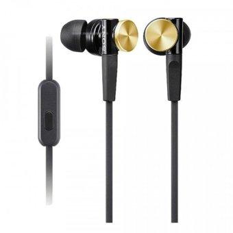 Sony In-Ear Extra Bass XB Headphone MDR-XB70AP - Gold