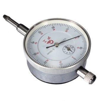 0.01mm Accurancy Dial Test Indicator DTI Guage Clock Gauge Range 0mm to 10mm- Intl