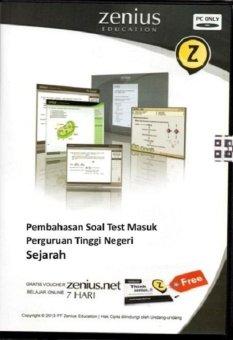 Zenius Set CD SBMPTN Sejarah