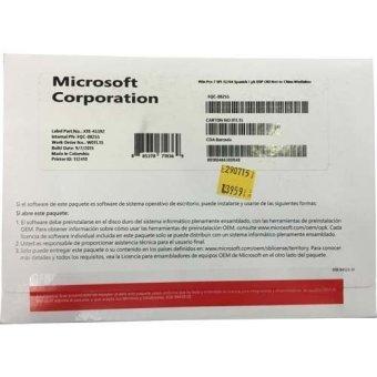 Microsoft Windows 7 Professional 64 Bit