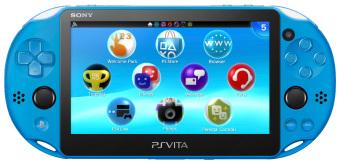 Sony PS Vita Wifi - Biru + Gratis MMC 16Gb + Antigores