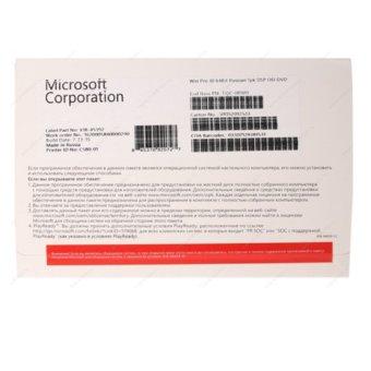 Microsoft Windows 10 Professional 64 Bit OEM