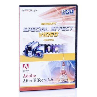 Tokoedukasi CD Tutorial Adobe After Effects 6.5 by Simply Interactive