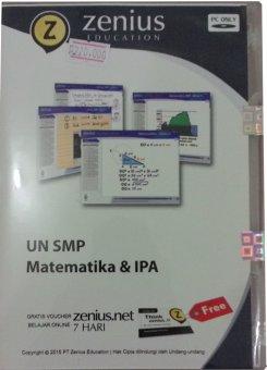 Zenius Paket CD UN SMP