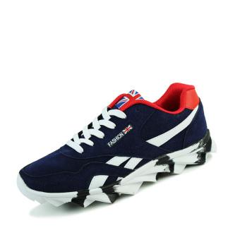 Xiaokui Men's Fashion Casual Sneakers JW1300 (Blue) - Intl