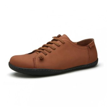 Men''s fashion casual leather men''s casual personality(brown) ' (Intl)