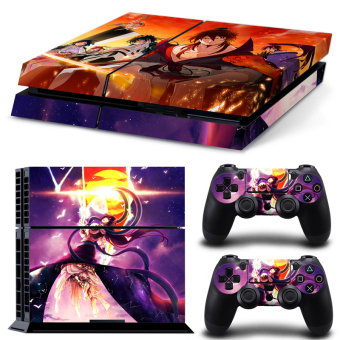 Bluesky Ps4 Console Full Skin Sticker Faceplates (Paints Console Skin X 1 + Controller Skin X 2) (Intl)