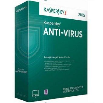 Kaspersky Antivirus 3 User 2015 lisensi 1 Tahun