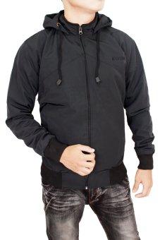 Gudang Fashion - men jacket - Hitam