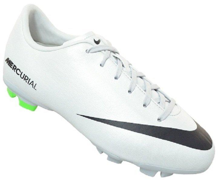 harga Nike Junior Mercurial Victory IV FG 553631003-Sepatu Bola Anak-Anak-Metallic Platinum/Black/Electric Green Lazada.co.id