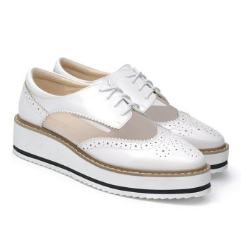 Women Rubber Large Bottom Non Slip Fashion Sports Shoes - Intl