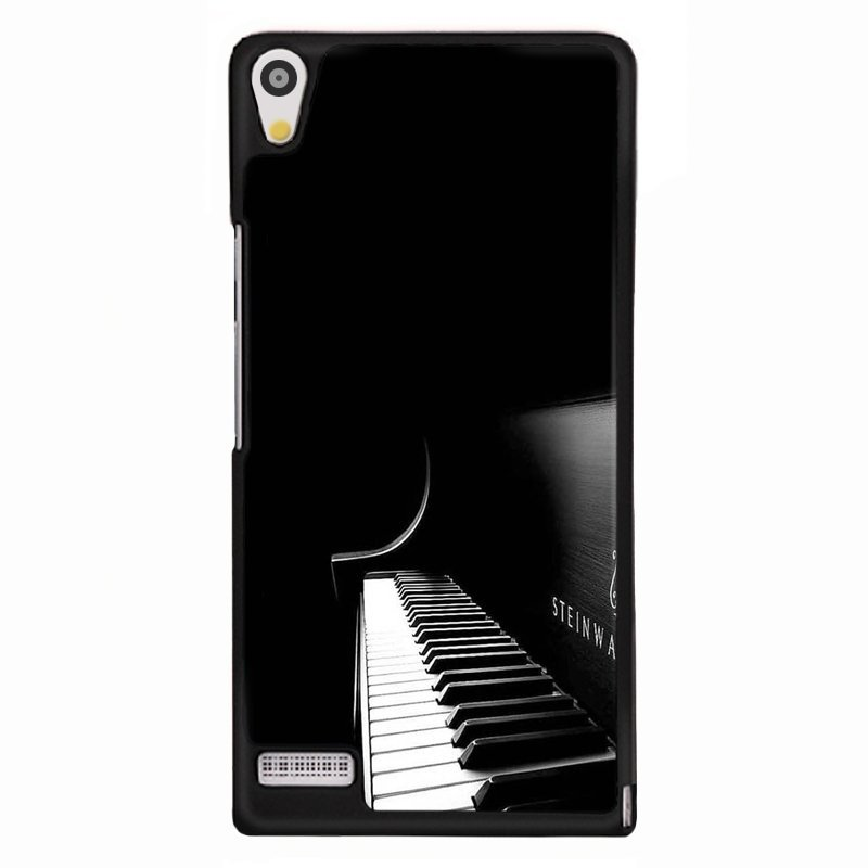 Y&M Black Piano Phone Covers for Huawei Ascend P6 (Multicolor)