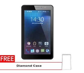 Advan Vandroid E1C Pro 3G - 8GB - Putih + Gratis Diamond Case