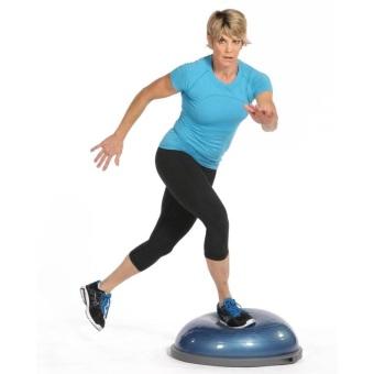 harga Fitness ball balance yoga velocity hemisphere bosu Brabus Free Shipping - option Gray Lazada.co.id