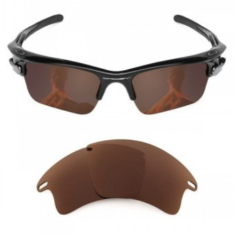 MRY POLARIZED Replacement Lenses for Oakley Fast Jacket XL Sunglasses Bronze Brown (Intl)