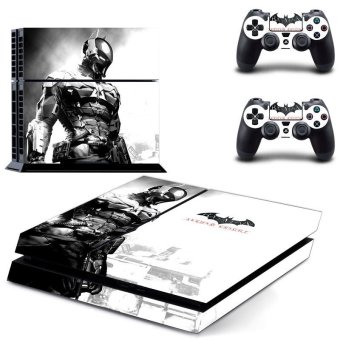 Iron Man Design Cover Skin Sticker Case for PS4 PlayStation Console 2 Controller(INTL)