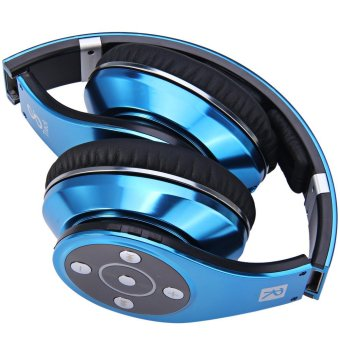 Bluedio R Foldable Wireless Stereo Headphone for Smartphones (Blue)