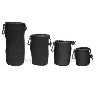 harga Meking Neoprene Soft Camera Lens Pouch Case Bag 4-in-1 Kit (8x10 Lazada.co.id