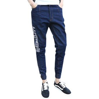Fanco Men's Men's Basic Fleece Marled Jogger Pant jeans Trousers Black - Intl