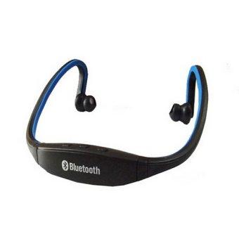 Wireless Bluetooth 3.0 Headset (Blue) (Intl)