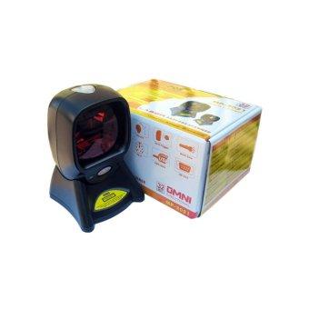 MINIPOS MP-2021 - OMNI Laser Barcode Scanner 1D - Auto Scan - Auto Trigger - Hitam
