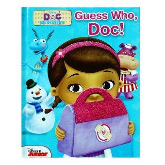 Genius Buku Anak Genius Guess Who,Doc! Lift The Flaps Book