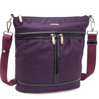 SimpleHome Sinpaid NB-014 Korean fashion handbags shopping bag lady leisure messenger bag city style handbag purple (Intl)