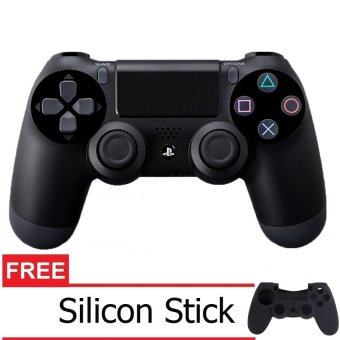 Sony Playstation 4 Controller Black Free Sillicon Controller