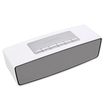GETEK Portable Bluetooth Wireless FM Stereo Mini Speaker For Smart Phone Tablet (White) (Intl)