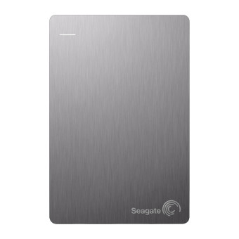 Seagate Backup Plus Slim Portable 1TB USB 3.0 - Silver