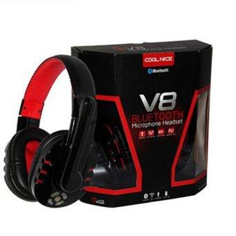 Ovleng V8 Wireless Bluetooth Headphone (Black) (Intl)