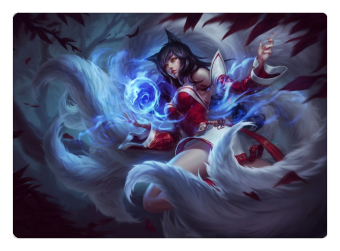 Nine-Tailed Fox Ahri Mouse Pad Lol Pad Mouse League Laptop Mousepad Best Seller Gaming Padmouse Gamer of Legends Keyboard Mats (Intl)